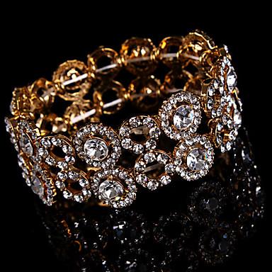 Damen - Kette Runde Armreifen Gold Armbänder Für Hochzeit Party Besondere Anlässe