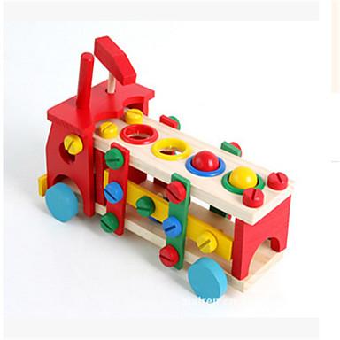 나무 자동차 조립 분해 너트 조합 장난감 다기능 재생 테이블