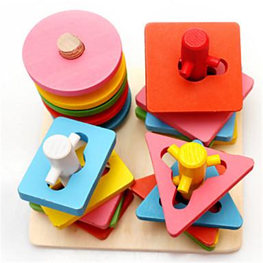 Bildungsspielsachen Spielzeuge Spaß Holz Klassisch Stücke Kinder Geschenk