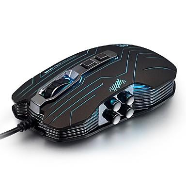 Mit Kabel Gaming Mouse DPI Adjustable Hinterleuchtet Programmierbar 800/1200/1600/2400/3200