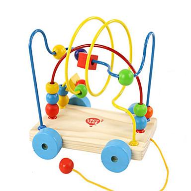 crtani inteligencija cijelog zrna beaded djeca puzzle prikolicu dijete igračka