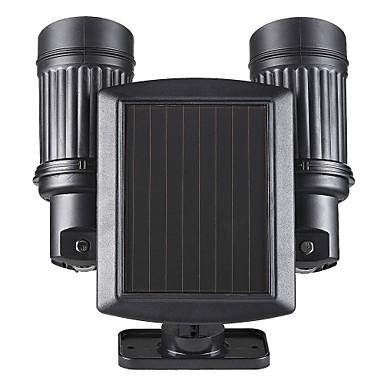 1 kpl Koristevalo / Aurinkopaneeli LED-valot Aurinkopaneeli / Akku Tunnistin / Ladattava / Vedenkestävä