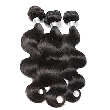 Человека ткет Волосы Бразильские волосы Волнистый волосы ткет