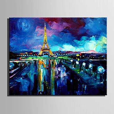 Maalattu MaisemaEuropean Style 1 paneeli Kanvas Hang-Painted öljymaalaus For Kodinsisustus