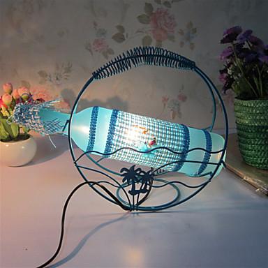 kreative Weinflasche Lampe Schlafzimmer Nachttischlampe Beleuchtung Lampen der europäischen romantischen Persönlichkeit Geschenk