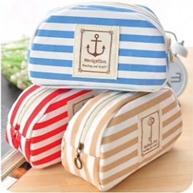 Penaalit-Textile-Cute / Liiketoiminta / Monitoimilaitteet-Punainen / Sininen / Ruskea-