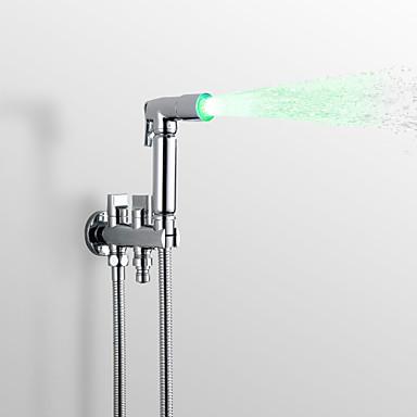 בידה מגופים-עכשווי-LED / שפורפרת יד כלולה-Brass(כרום)