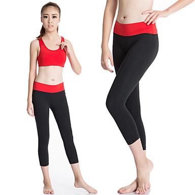 Damen Enge Laufhosen Funktionsunterhemd Trainingsleggings Rasche Trocknung Videokompression Schweißableitend Leggins Kompressionskleidung