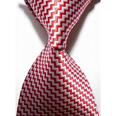 Solmio-Polyesteri,Raidallinen,Punainen / Hopeanvärinen