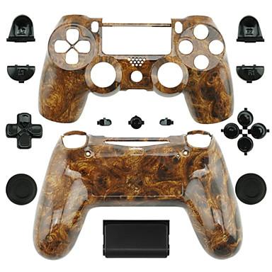 במקרה בקר תחליף בקר PS4 (בצבע עץ בצבע כהה)