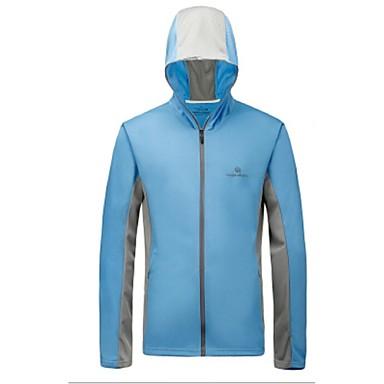 남성용 여성용 남여 공용 탑스 캠핑 & 하이킹 피싱 달리기 빠른 드라이 자외선 방지 정전기 방지 통기성 땀 흡수 기능성 소재 부드러움