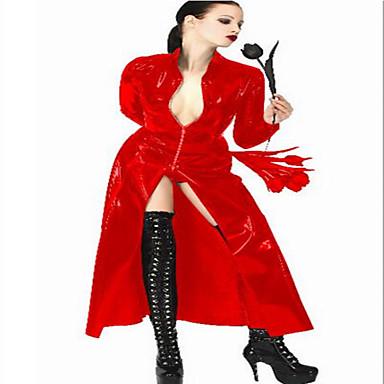Cosplay Cosplay Kostüme Party Kostüme Unisex Halloween Karneval Silvester Fest / Feiertage Halloween Kostüme Rot Solide Sexy Uniformen