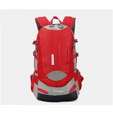 35L L 배낭 캠핑 & 하이킹 여행 방수 방수 지퍼 착용 가능한 통기성 폴리 에스터 나일론