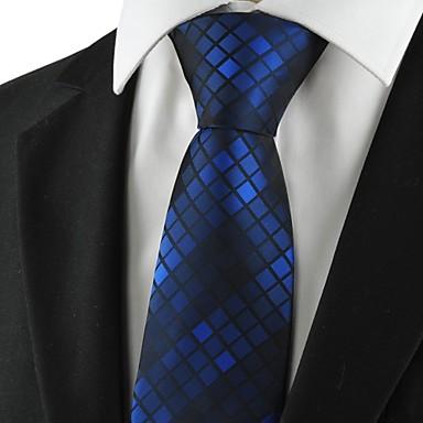 Homens Luxo Estampado Quadriculado Fashion Criativo