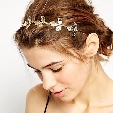 Damen / Mädchen Grundlegend / Natur / Simple Style, vergoldet / Aleación Stirnband - Blume / Stirnbänder / Stirnbänder / Blattform