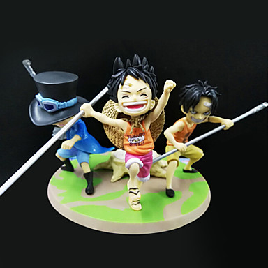 One Piece Andre 9CM Anime Action Figurer Modell Leker Doll Toy