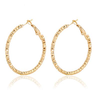 Naušnica Okrugle naušnice Jewelry 1 par Vjenčanje / Party / Dnevno / Kauzalni Legura Žene Zlatna