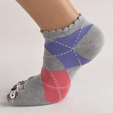 Low Cut Socken Damen Atmungsaktiv Schweißableitend Reibungsarm - 5 Paare für Yoga Pilates Golfspiel Fussball Radsport / Fahhrad Fitness