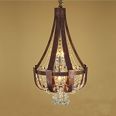 post modernog luksuznog kristalnog kreativnog lron lustera visoke kvalitete