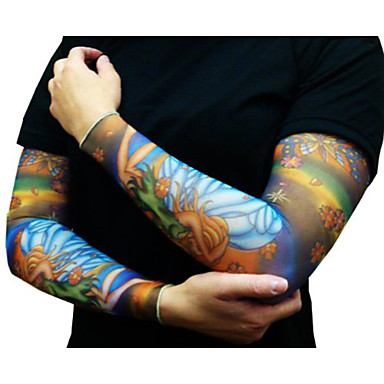 Kuvio / Halloween / Aurinkovoide varsi väliaikaiset tatuoinnit 2 pcs Toteemisarja / Eläinsarja / Kukkasarjat kehon koristelu Päivittäin