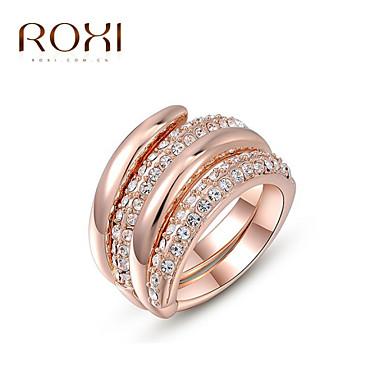 Mulheres Anel de declaração - Liga Fashion Tamanho Único Ouro Rose Para Casamento / Escritório e Carreira