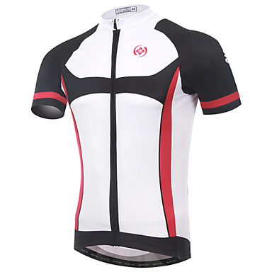 XINTOWN 남성용 짧은 소매 싸이클 져지 자전거 져지, 빠른 드라이, 자외선 방지, 통기성 라이크라