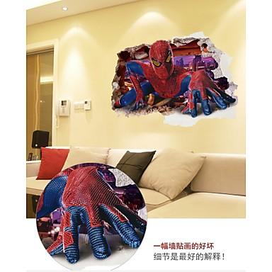 카툰 / 사람들 / 판타지 벽 스티커 3D 월 스티커,PVC 60*90CM