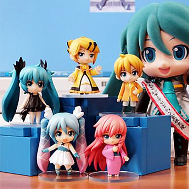 Anime Akcijske figure Inspirirana Sword Art Online Cosplay PVC 6.5 CM Model Igračke Doll igračkama