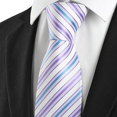 Solmio-Polyesteri,Raidallinen,Sininen / Vaaleanpurppura