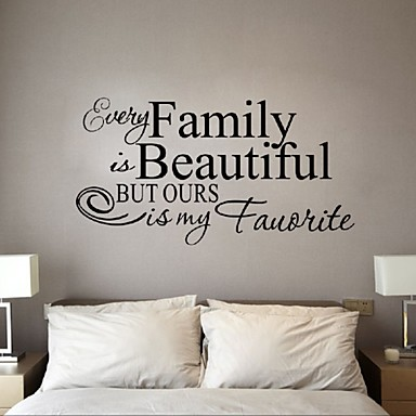 Eläimet Ihmiset Asetelma Romantiikka Muoti Muodot Vintage Holiday Sarjakuva Leisure Fantasy Wall Tarrat Words & Quotes Wall Stickers