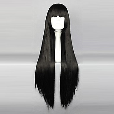 Cosplay Wigs InuYasha Sango Anime Cosplay Wigs 80 CM Heat Resistant Fiber Women's