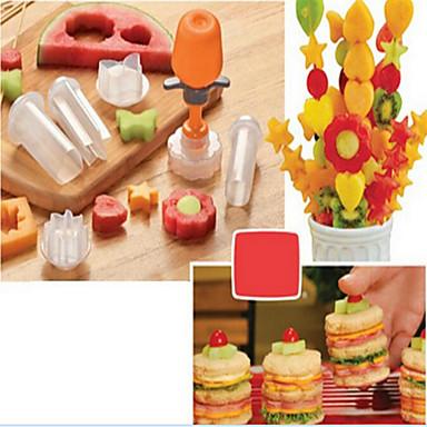 Køkken Tools Plast Gør Det Selv Form For frugt 1set