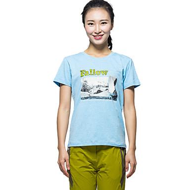 Női Planinarska majica Gyors szárítás Ultraibolya biztos Párásodás gátlás Porbiztos Rovartaszító Antisztatikus Magas légáteresztő