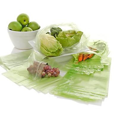100kpl keittiö hedelmät ja vihannekset elintarvikkeiden uudelleenkäytettäviä pusseja pussi tuoreita kasviksia
