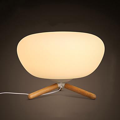 Asztali lámpa-LED / Szemvédelem-Modern/kortárs-Fa/bambusz