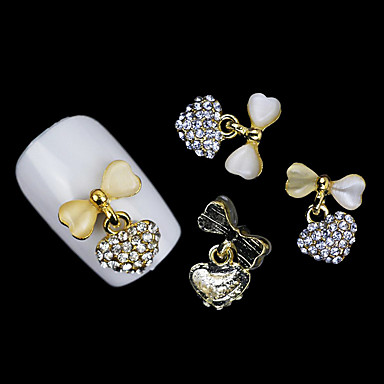 Nail Art Decoration tekojalokivi Pearls meikki Kosmeettiset Nail Art Design