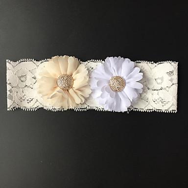 Sztreccs szatén Wedding Garter - Virág