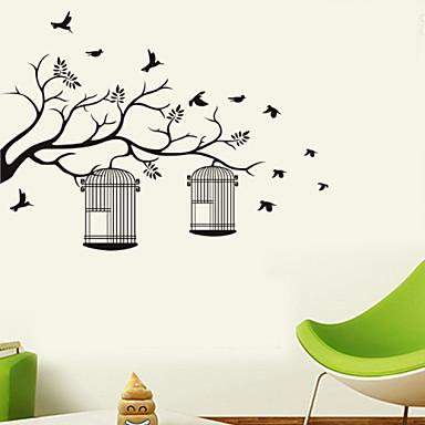 Animais / Botânico / Desenho Animado / Música / Romance / Moda / Feriado / Paisagem / Formas / Fantasia Wall StickersAutocolantes de