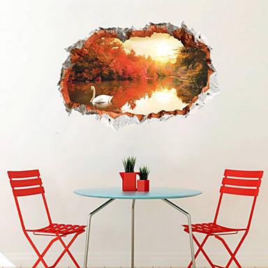 보태니컬 / 풍경 / 3D 벽 스티커 플레인 월스티커,PVC 60*90CM