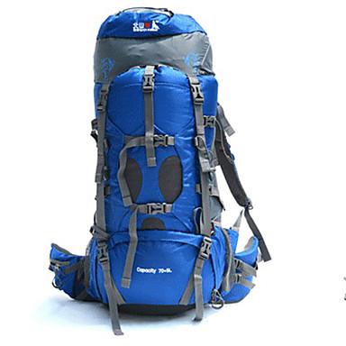 70+5 L mochila Alpinismo Esportes Relaxantes Acampar e Caminhar ViajarProva-de-Água Secagem Rápida Á Prova-de-Chuva Á Prova-de-Pó