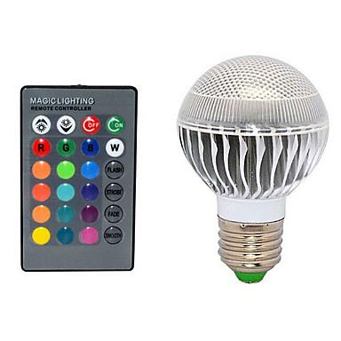 10W E26/E27 LED Λάμπες Σφαίρα 3 72 lm Τηλεχειριζόμενο AC 220-240 V 1 τμχ