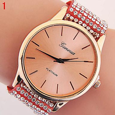 Damen Modeuhr Simulierter Diamant Uhr Quartz Armbanduhren für den Alltag Imitation Diamant Caucho Band Schmetterling Schwarz Weiß Blau