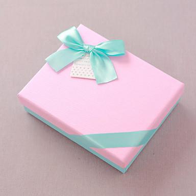 1 Piece / Set Naklonost Holder-Kuboidan Kartica papira Poklon kutije