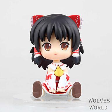 Anime Action-Figuren Inspiriert von Touhou Projekt Reimu Hakurei PVC 11 CM Modell Spielzeug Puppe Spielzeug
