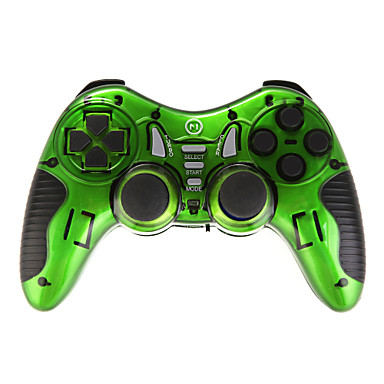 sechs in einem Wireless-Controller für USB / PS2 / PS3 / ps1 / android tv / android tv box / win10 grün