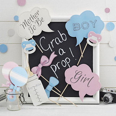 Babyparty / Hochzeitsfeier Hartkartonpapier Fasergemisch Hochzeits-Dekorationen Klassisch Ganzjährig