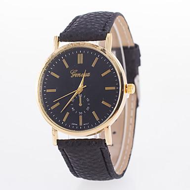 Damen Armbanduhr Schlussverkauf Leder Band Charme / Modisch Schwarz / Weiß / Blau