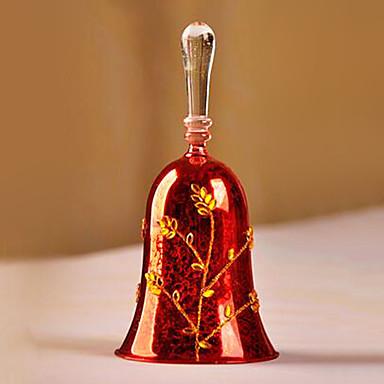 európai stílusú üveg vörös szín 1db / set