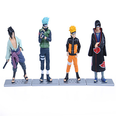 Anime Action Figurer Inspirert av Naruto Sasuke Uchiha PVC 12 CM Modell Leker Dukke