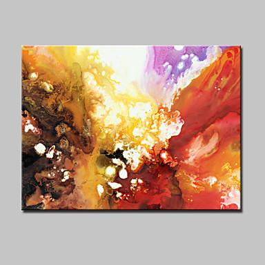 Handgemalte Abstrakt / Abstrakte Landschaft / POPModern Ein Panel Leinwand Hang-Ölgemälde For Haus Dekoration